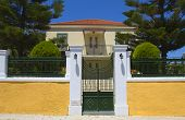 Greek neoclassical house