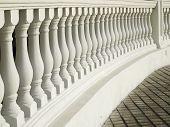 White Balustrade Pattern