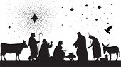 picture of magi  - Star of Bethlehem - JPG