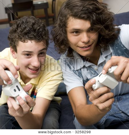 poster of Two Guys Play Videogames