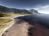 stock photo of eastern hemisphere  - An image of a nice fantasy landscape - JPG
