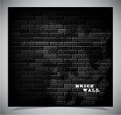Brick wall, vector