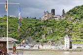 Cutts Burg, st. Goar, Rheinland-Pfalz, Deutschland