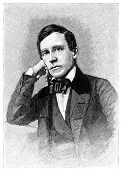 Stephen Collins Foster (1826-1864), compositora. Grabado por un artista desconocido de M de Harper