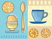 Café e pequeno-almoço