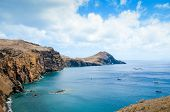Amazing Cliffs In Ponta De Sao Lourenco, The Easternmost Point Of Madeira Island, Portugal. Cliffs B poster