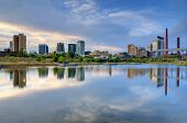 stock photo of alabama  - Skyline of Birmingham - JPG