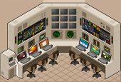 isometric controll center