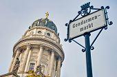 Gendarmenmarkt At Berlin, Germany