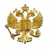 Emblema ruso oro