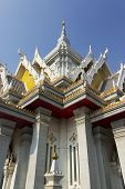 The Buddhist art building.