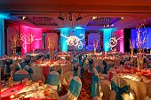 Decorated Ballroom For Indian Weding