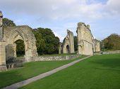 Glastonbury Abbey Ruins 2