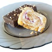 Swiss Roll And A Cake