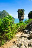 image of james bond island  - james bond island in thailand - JPG