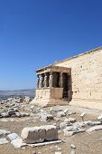 Details Of Erechtheum Temple