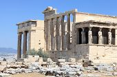 Part Of Erechtheum Temple