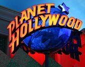 Las Vegas Planet Hollywood Sign