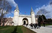 Gate of Topkapi Palace