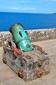Old cannon at Culzean Castle, Ayrshire