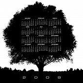 A 2009 Tree Calendar