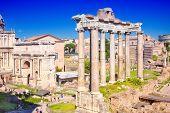 City Rome. Roman Forum