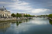 Seine And Museum D'orsay