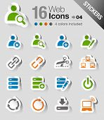 Stickers - Website and Internet Icons