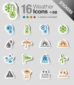 Sticker - Wetter-Web-Icons