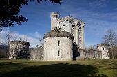 Castle Of Arteaga, Gautegiz De Arteaga, Bizkaia, Basque Country, Spain