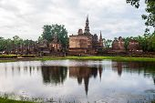 Wat Mahathat temple ruin