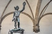 stock photo of perseus  - Benvenuto Cellini - JPG