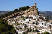 White town, Montefrio, Andalusia, Spain.