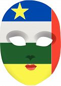 Central African Republic Mask