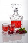 Raspberry Homemade Liquor