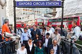 oxford circus under ground station in london