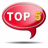 top 5 charts list pop poll result and award winners chart ranking music hits best top five quality r