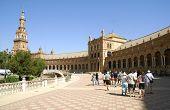 Plaza De Espana, Seville, Andalusia, Spain
