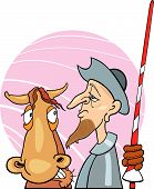 Don Quixote And Horse