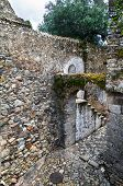 Arch And Stone Stairs
