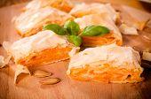 Traditional Serbian Pumpkin Pie