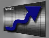 Profits And Blue Arrow