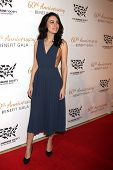 LOS ANGELES - MAR 29:  Christian Serratos at the Humane Society Of The United States 60th Anniversar