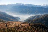 Landscape Scenery Around Jumla Village From Daphe Lagna Pass - Western Nepal