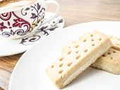 Shortbread Fingers And Coffee