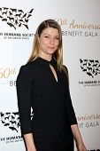 LOS ANGELES - MAR 29:  Ivana Milicevic at the Humane Society Of The United States 60th Anniversary Gala at Beverly Hilton Hotel on March 29, 2014 in Beverly Hills, CA