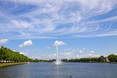 Pfaffenteich Lake In Schwerin City, Germany