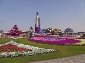 Dubai Miracle Garden in the UAE