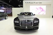 Bangkok - March 25 : Rolls Royce Majestic Horse Car On Display At The 35Th Bangkok International Mot