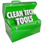 Clean Tech Tools Green Toolbox Energy Power Industry